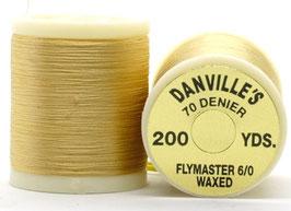 Danville's FLYMASTER 70 Denier Waxed Tan TFS041