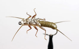 J:son STONEFLY NYMPH 2 Olive Brown
