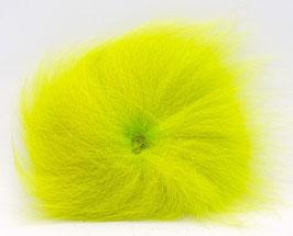 Orkla Fur & Feather ARCTIC FOX TAIL Fl. Lime