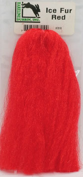 Hareline ICE FUR Red IF310
