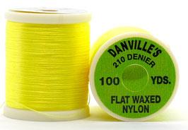 Danville's  FLAT WAXED NYLON 210 Fl. Yellow TPS502