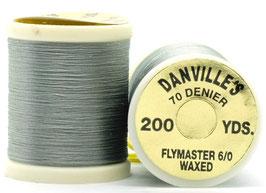 Danville's FLYMASTER 70 Denier Waxed Light Gray TFS031