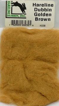 Hareline DUBBIN Golden Brown HD38