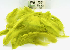 Hareline METZ SOFT HACKLE Golden Yellow Olive MH162