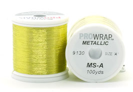 Pro Wrap METALLIC A 100 YARDS Gold 9130