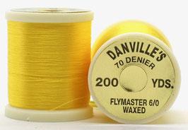 Danville's FLYMASTER 70 Denier Waxed Yellow TFS008