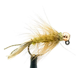 Yangoo TUNGSTEN JIG Olive Copper #8