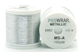 Pro Wrap METALLIC A 100 YARDS Silver 9860