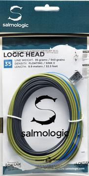 Salmologic LOGIC HEAD 35g./ 540grains FLOATING/ SINK3