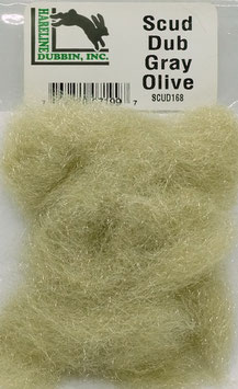 Hareline SCUD DUB Gray Olive SCUD168