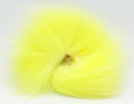 Orkla Fur & Feather ARCTIC FOX TAIL Fl. Yellow