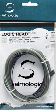 Salmologic LOGIC HEAD 26g./ 401grains SINK1 / SINK2