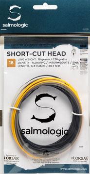 Salmologic SHORT CUT HEAD 18g./ 278grains FLOATING/ INTERMEDIATE/ SINK4