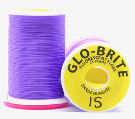 GLO BRITE FLOSS 15 Fl. Purple
