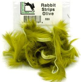 Hareline RABBIT STRIPS Olive RS9
