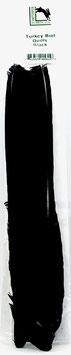 Hareline TURKEY BIOT QUILL Black TBQ11