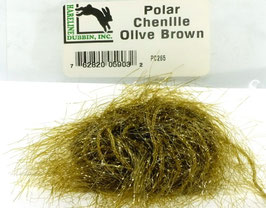 Hareline POLAR CHENILLE Olive Brown PC265