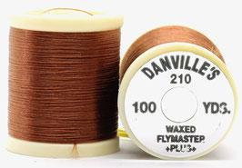 Danville's FLYMASTER PLUS 210 Denier Waxed Brown