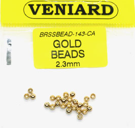 Veniard GOLD BEADS 2,3mm