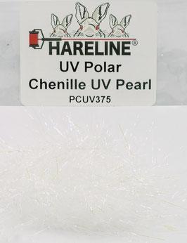 Hareline UV POLAR CHENILLE Pearl PCUV375