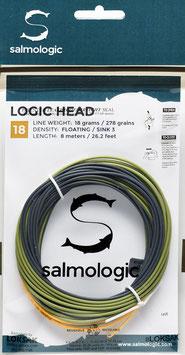 Salmologic LOGIG HEAD 18g./ 278grains FLOATING/ SINK3
