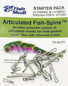 Fish Skull ARTICULATED FISH SPINE 55mm FS-AS-FS