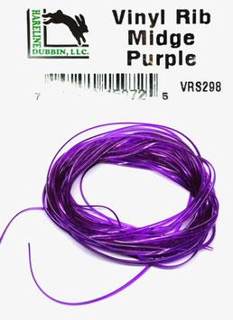 Hareline VINY RIB Midge Purple VRS298