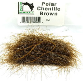 Hareline POLAR CHENILLE Brown PC40