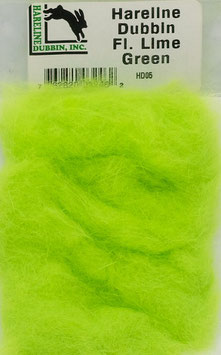 Hareline DUBBIN Fl. Lime Green HD05