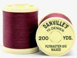 Danville's FLYMASTER 70 Denier Waxed Wine TFS052