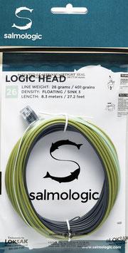 Salmologic LOGIC HEAD 26g./ 401grains FLOATING/ SINK3