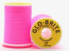 GLO BRITE FLOSS 2 Fl. Pink