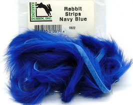 Hareline RABBIT STRIPS Navy Blue RS22