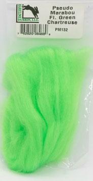 Hareline PSEUDO MARABOU Fl. Green Chartreuse PM132