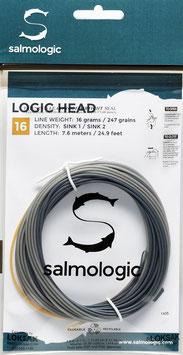Salmologic LOGIC HEAD 16g./ 247grains SINK1/ SINK2