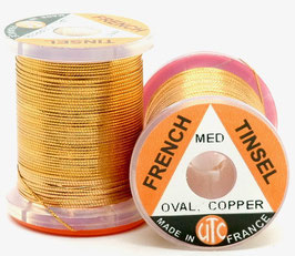 UTC FRENCH TINSEL OVAL Copper Medium