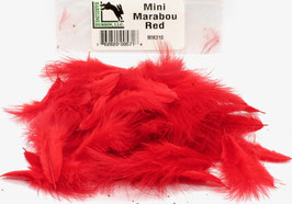Hareline MINI MARABOU Red MM310