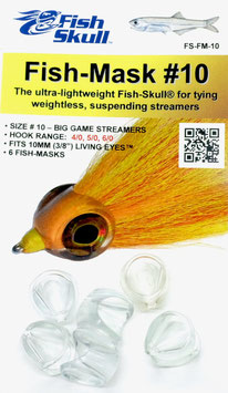 Fish Skull FISH MASK #10 FS-FM-10