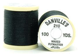 Danville's FLYMASTER PLUS 210 Denier Waxed Black TPS100