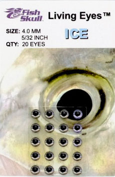 Fish Skull LIVING EYES Ice 4mm