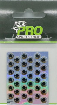 Pro Sportfisher COOL EYES Silver 6mm