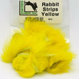 Hareline RABBIT STRIPS Yellow RS10
