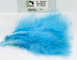 Hareline X- SELECT MARABOU Fl. Blue XS125