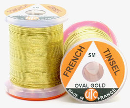 UTC FRENCH TINSEL OVAL Gold Small