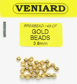 Veniard GOLD BEADS 3,8mm