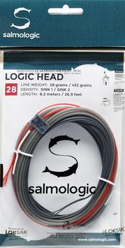 Salmologic LOGIC HEAD 28g./ 432grains SINK1/ SINK2