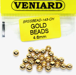 Veniard GOLD BEADS 4,6mm