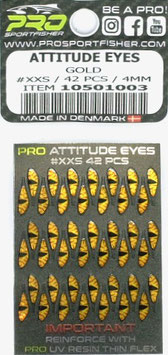 Pro Sportfisher ATTITUDE EYES Gold 4mm