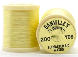 Danville's FLYMASTER 70 Denier Waxed Light Cream TFS002