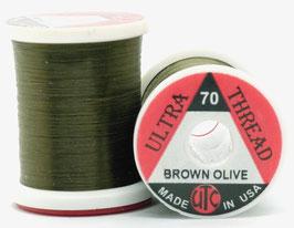 UTC ULTRA THREAD 70 Den. Brown Olive UT7091